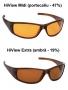 Ochelari de soare cu filtru pentru creşterea contrastului - ramă Saturn (unisex) - DISPONIBILI LA COMANDĂ