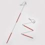 Baston simbol, pliabil, pentru persoanele cu deficiențe cumulate de vedere și auz – DISPONIBIL LA COMANDĂ