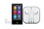 iPod Nano 16 GB gri spațial, cu căști cu microfon Apple Earpods with Remote and Mic, reportofon și player mp3 accesibil nevăzătorilor, cu voce în limba română
